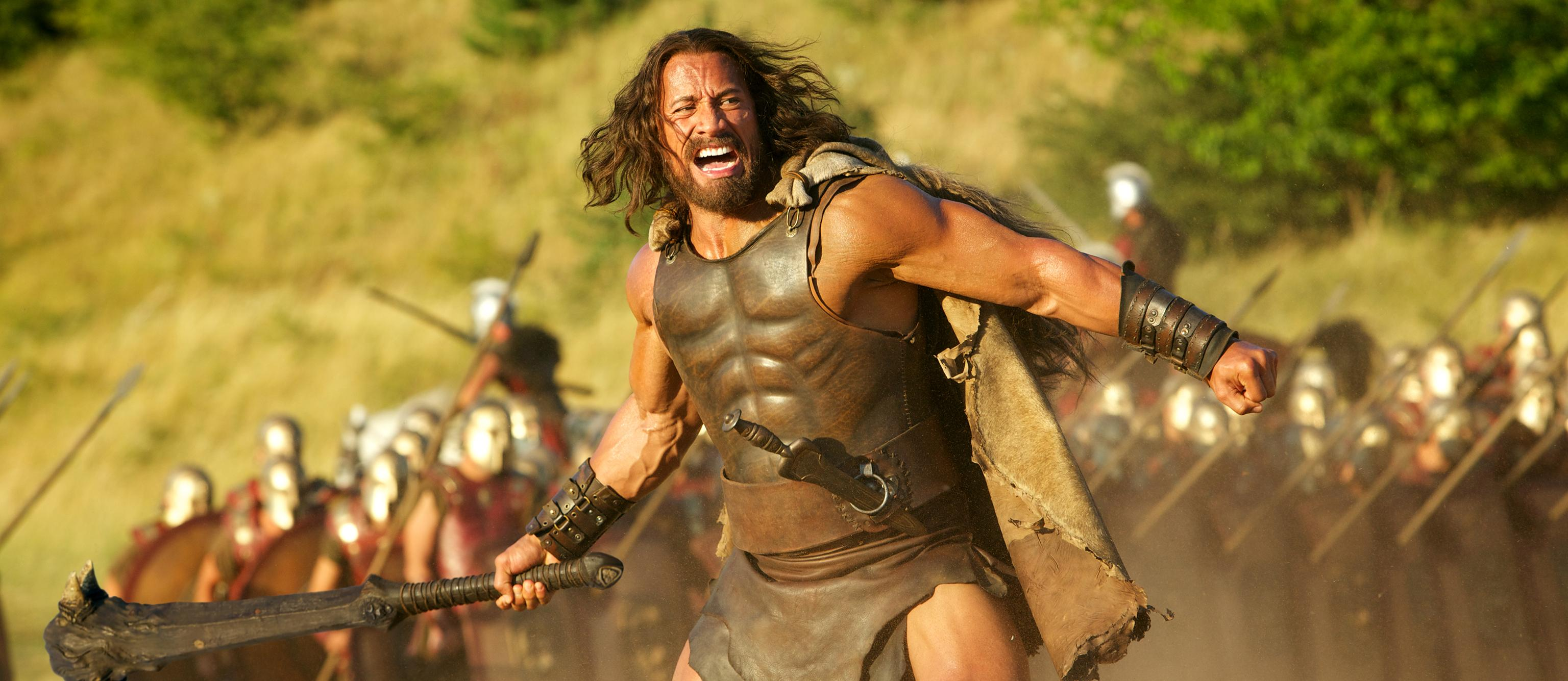 The Rock gets mythological, ScarJo turns scary-smart, Woody's tepid latest, PSH's final role, and more: new movies!