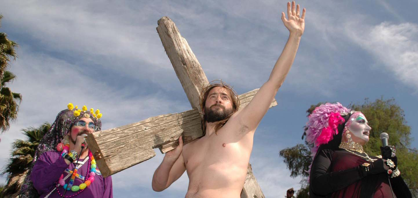 Hunky Jesus resurrected! Contest moves inside to DNA
