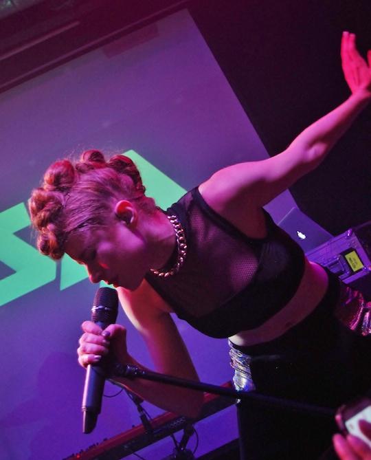 Kiesza storms the pop scene at the Rickshaw Stop