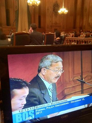 Two good questions for Mayor Lee