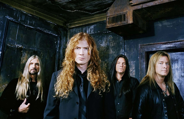 Next stop Mustaine: rappin' with the Megadeth man