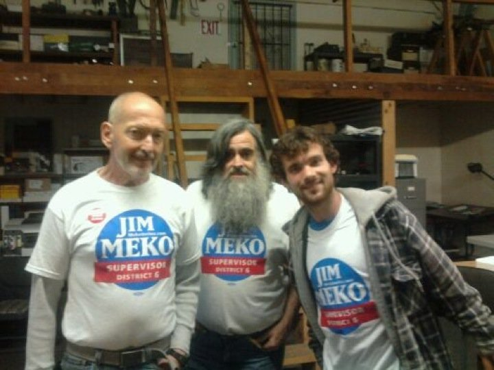 "Election 2010: Jim Meko's ""not going anywhere"""