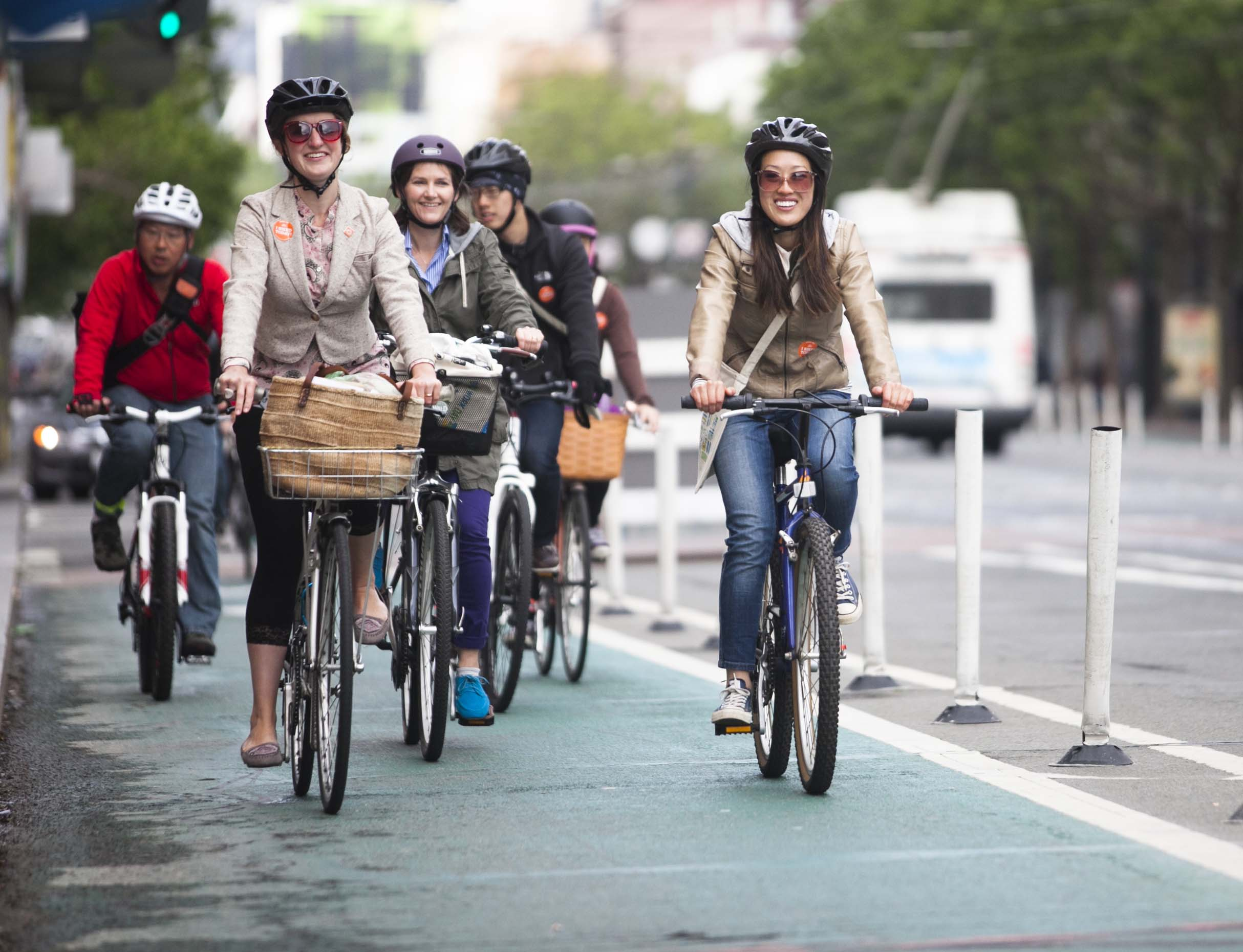 Official SF bike count shows big increase, but not big enough to meet city goals