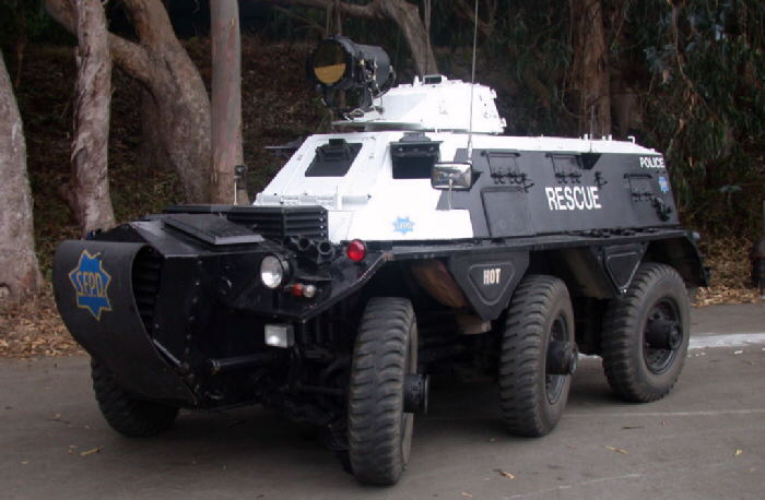 From tanks to scooters: The top five most and least intimidating SFPD vehicles
