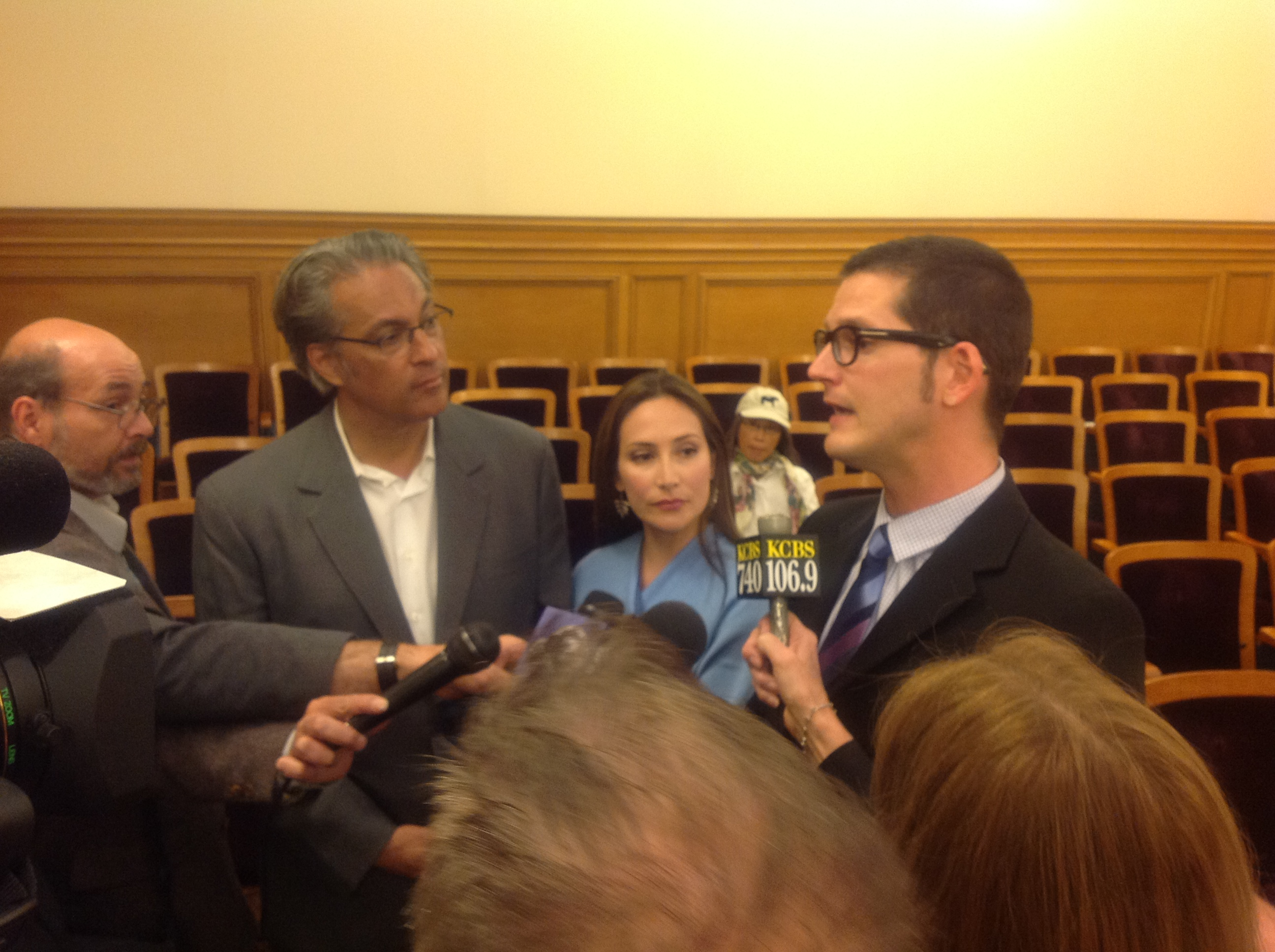 Commissioners sharpen Mirkarimi case and select unlikely rep